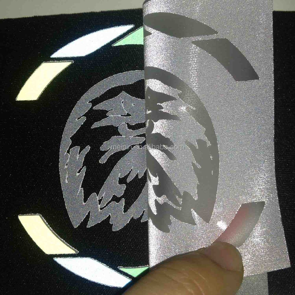 Heat Transfer Logo Heat Press Vinyl Reflective For T Shirt