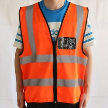 CE Certificate EN20471 Reflective Safety Vest Pockets Safety Equipment
