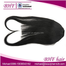 Xuchang Factory Price Stock Malaysian Human hair Extensions Fashion Clip In Hair Fringes