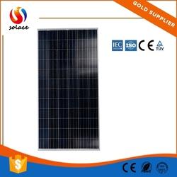China Manufacture slim solar panel