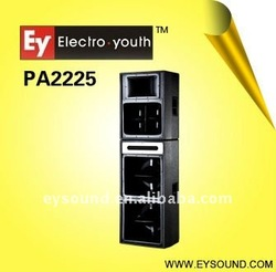 outdoor stage speaker pro audio 3-way pa sound system PA2225
