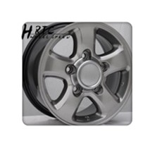 hot selling 16*8J wheel rim alloy 5x150 for auto