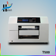 A3 size cheap t shirt printing machine with RIP software provided