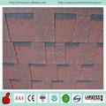 Vente en gros laminée. standard rouge chinois bardeaux d'asphalte