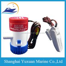 "SEAFLO 12V 500 GPH Marine Boat Non-automatic Submersible Bilge Pump 3/4""Hose"