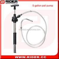 5 gallon diffusion pump oil crude oil pump hand rotary oil pump