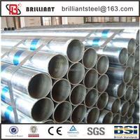 galvanized pipe for greenhouse/pipe galvanized/galvanized steel pipe clamp