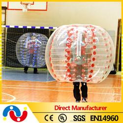 2015 Top quality Amazing 100% 0.8mm PVC/TPU soccer bubble, recreational soccer, wholesale ball pit balls