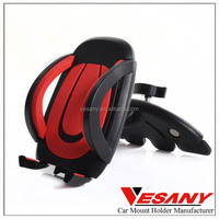 VESANY new product 2015 fashionable mobile phone car mount rotating plastic car mobile holder for samsung smart phones