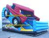 car model design inflatable slides, China inflatable slide