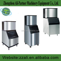 Save electricity square ice making machine flow type ice machine from Ali-partner