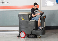 Electric power sweeper floor sweeper
