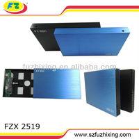 2.5 Inch Hdd Enclosure/external Hdd Case For Sata Hard Disk 320GB/500GB/1TB