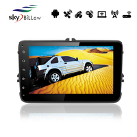 8'' capacitive touch screen Volkswagen Universal car MP3 MP4 player with built-in WIFI and bluetooth