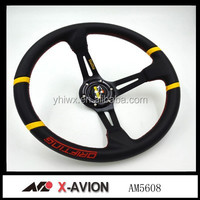 leather Drifting steering wheel