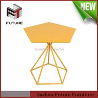 Outdoor Furniture garden wooden center Table in High Gloss