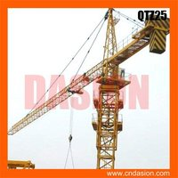 QTZ25 Slewing Tower Traveling Cranes