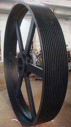 Large Taper Bore V Belt Pulley For Reducer,Engine Crank Pulley,Non standard pulley