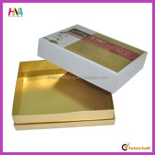 2015 kraft carton box paper necktie box parfum box