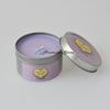 Lavender Metal Travel Tin Candle
