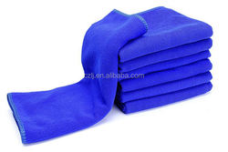 environmental dyeing micro fiber fabrics top quality terry towel car wash towel fabric in bulk