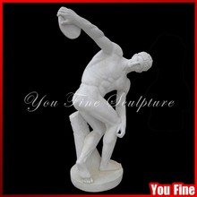 Famous Discus-thrower Marble Discobolus Sculpture For Sale Greek