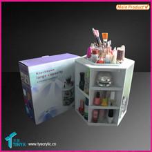 China Factory Wholesale Promoting Tower Shape Makeup Organizer