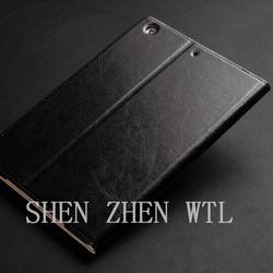 2015 new model flip leather case for ipad mini