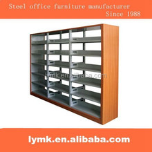 Laterali in legno scaffale in metallo/double face steel libreria