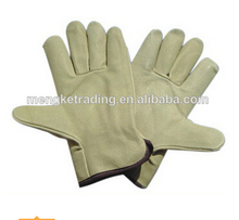 "10"" AB cowgrain leather working glove"