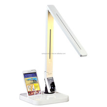 LED table light, Samsung quick charge, Touch-Sensitive Control led table light with USB port