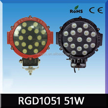 60W auto light ip67 waterpoof 12V 24V super bright 10w machine work lights for trucks