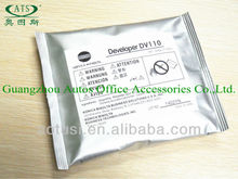 Developer for Minolta DV110 copier spare parts
