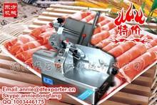 frozen meat slicing machine /slice meat cutting machine