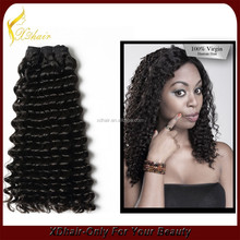 Unprocessed 6a remy hair extension/100% Good quality human hair extension