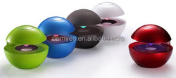 subwoofer outdoor portable wireless with disco stereo music mini bluetooth ball shape speaker