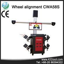 wheel alignment and balancing machine with double monitor CWA58S