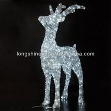 led 3d Deer outdoor waterproof Christmas light
