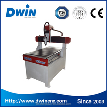 Jinan factory cheap 600*900mm 2.2kw spindle 4 axis mini cnc router for aluminum wood