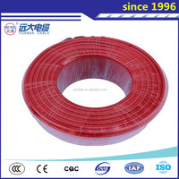 Top quality 3mm copper wire, single core copper electric wire and cable with solid or stranded conductor 450/750V