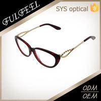 Beautiful retro style fashion new model optical frames