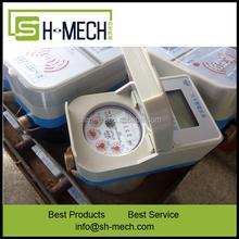 China suppliers Digital gallon cubic anti radiation water meter