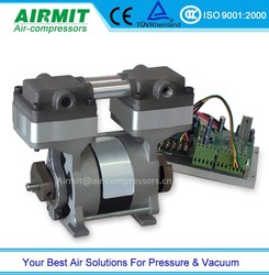 oil free screw air compressor/low noise oil free air compressor/oilless air compressor motor