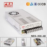 NES 350W 48V 7.3A china electronics Industrial Single Output SMPS AC DC Switching Power Supply Led Driver,led transformer