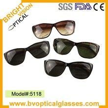 5118 Super quality stylish wayfarer bamboo legs sunglasses