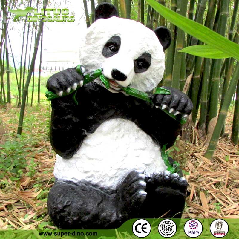 D coration vie taille panda jardin animaux r sine artisanat en r sine id de produit 60092504510 - Animaux decoration jardin resine ...