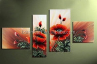 Hand-painted modern wall art living room bedroom hall decoration POP oil painting