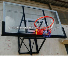 Wall-mount basketball goal