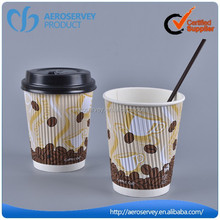 Hot sale custom wholesale disposable paper coffe cup