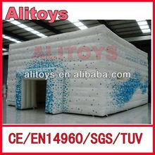 elegance! air cube tent design/cube tent building/cube tent inflatable